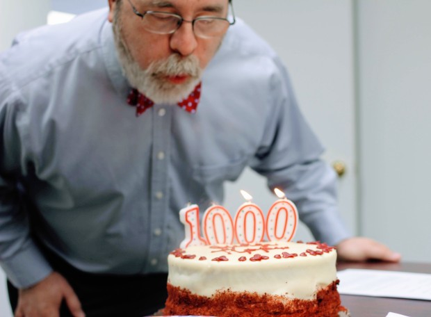 1000-blowing out candles